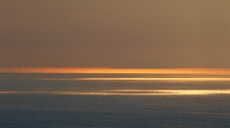 Sunset over the see off Rame Head