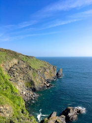 The View towards Dodman Point